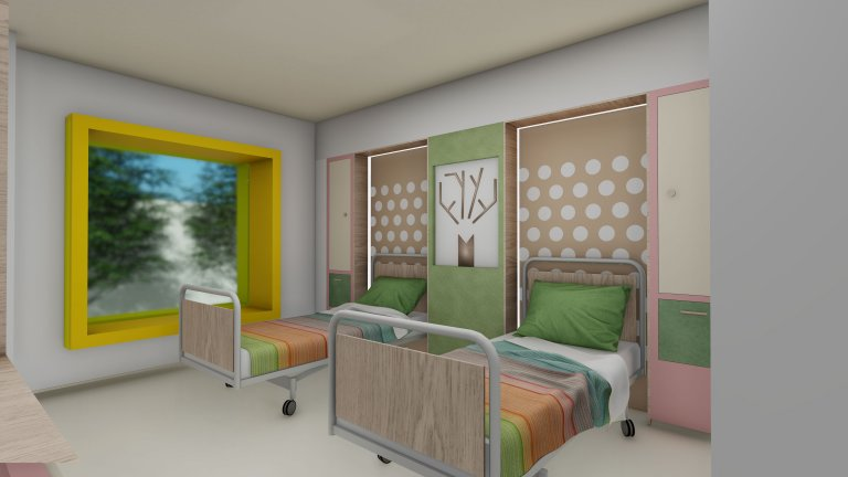 Extension of Children Clinical Emergency Hospital Marie Curie