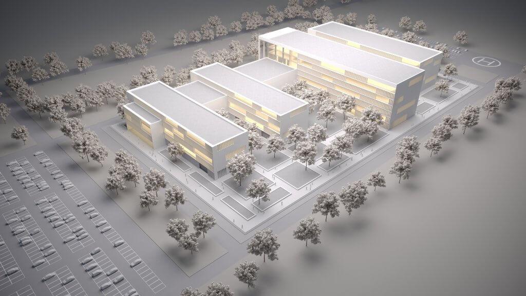 County Hospital in Focsani